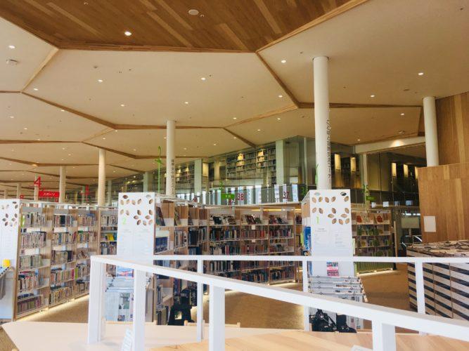 オーテピア 2-3F 図書館①