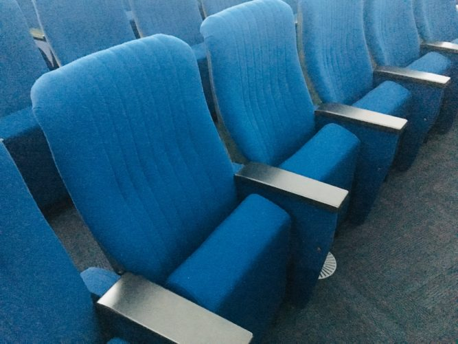 プラネタリウム座席