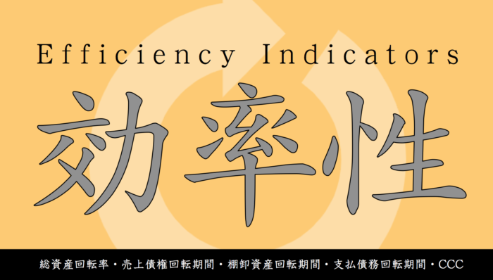 効率性:資本の活用度