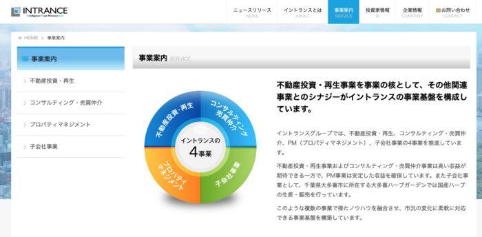 出典:株式会社イントランス公式サイト